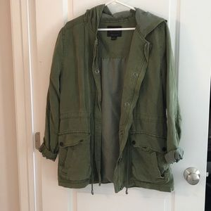 Anthropologie Relaxed fit cargo jacket